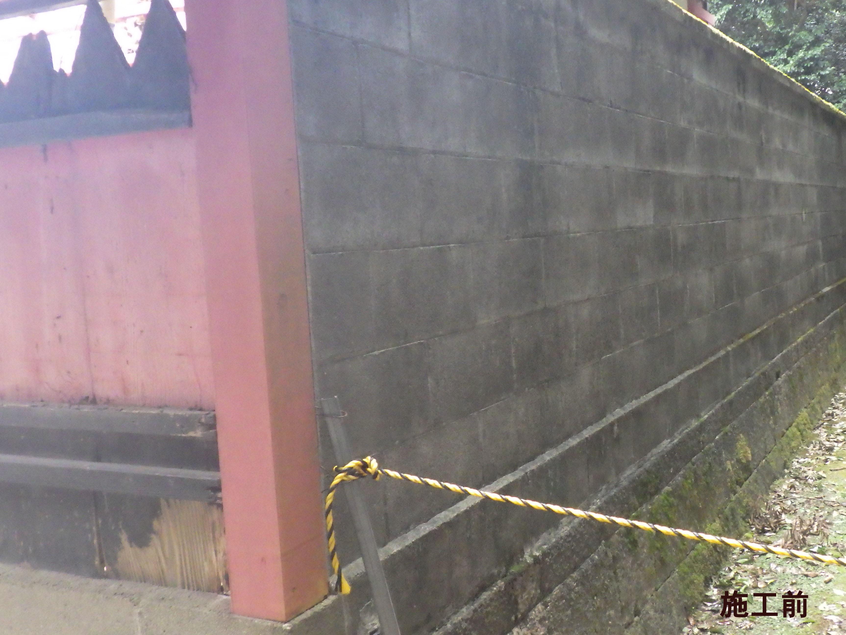 雙栗神社様 本殿玉垣整備事業