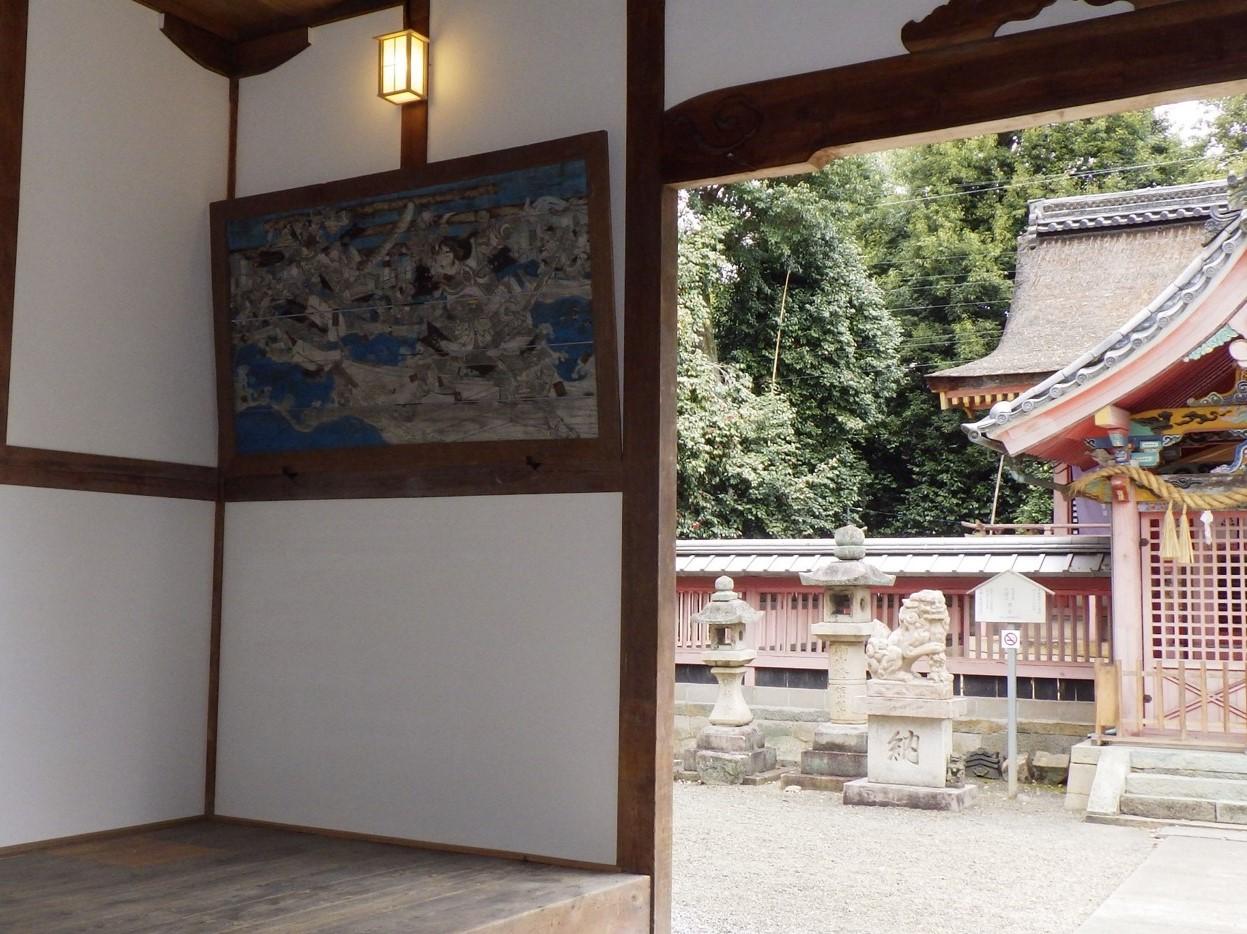 雙栗神社様 拝殿整備事業