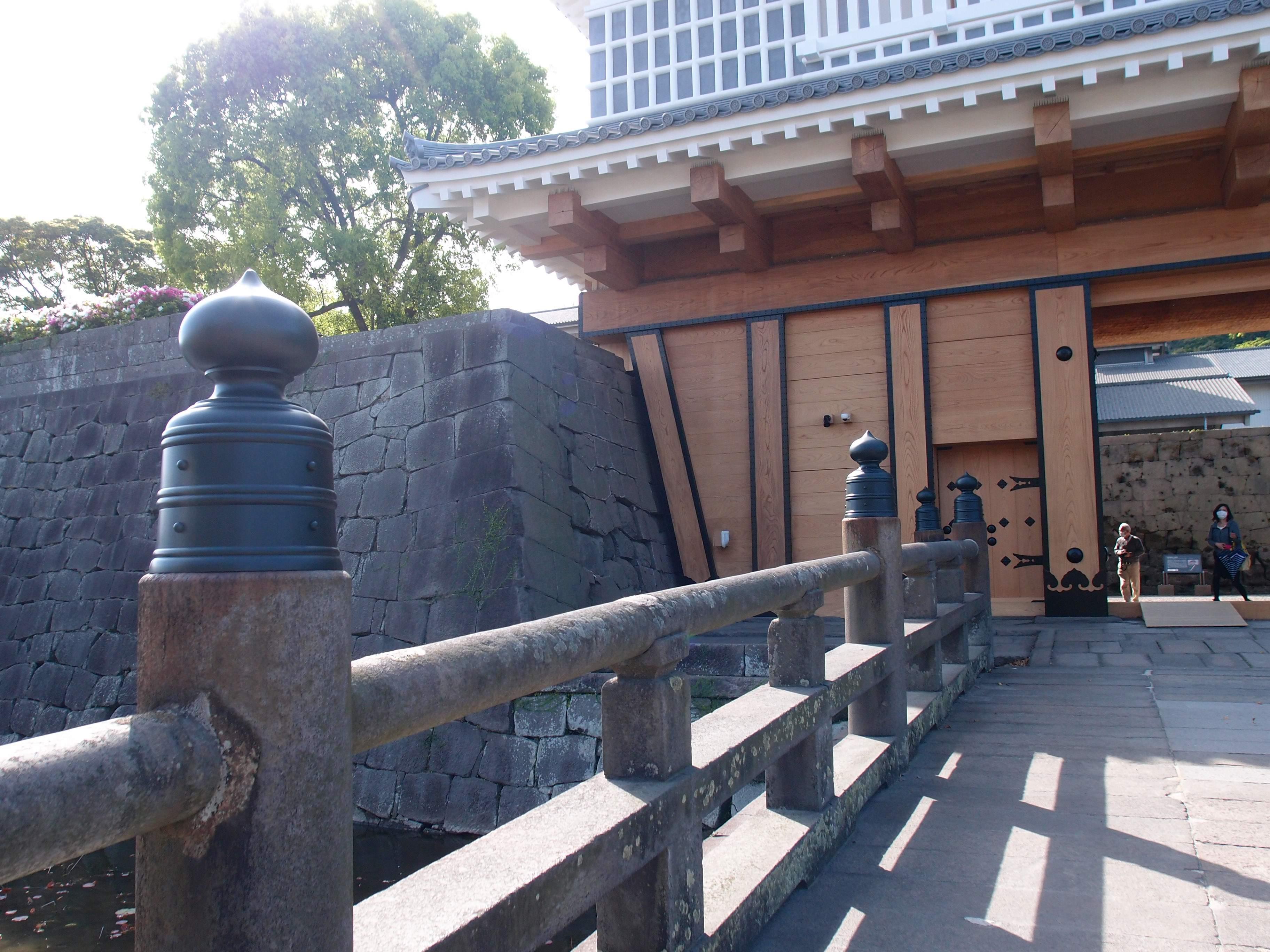 鹿児島県鶴丸城御楼門